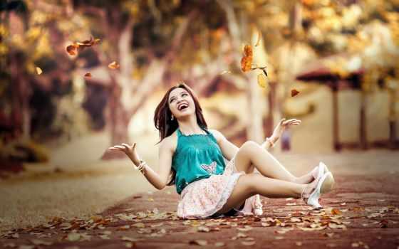 листья, красота