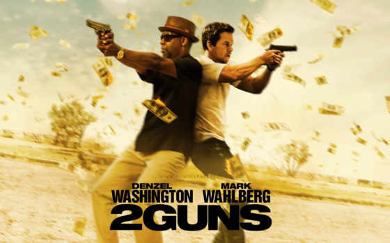 guns, denzel, марк, washington, wahlberg, movie, два, ствола,