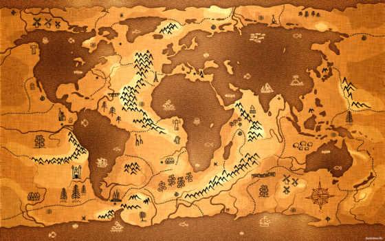 map, мира, world, фотообои, карты,