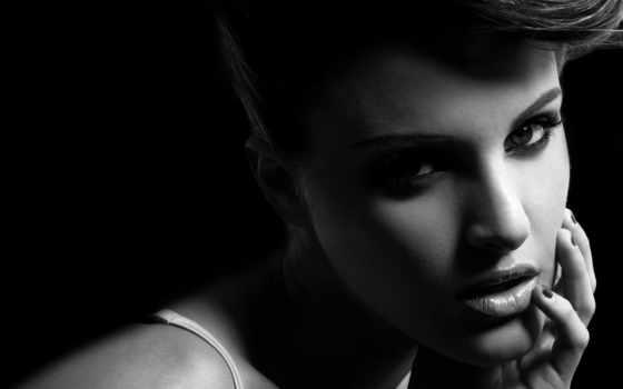 девушка, fone, черном, devushki, выразительными, глазами, очарование, вас, улице, just, девушку,