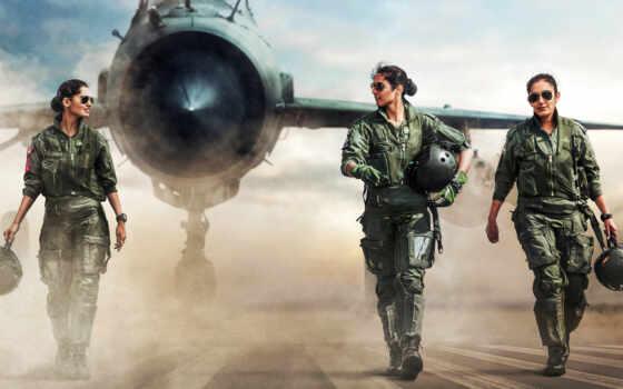 air, indian, сила, пилот, истребитель, впервые, мфа, fly, kanth, bhawana, batch