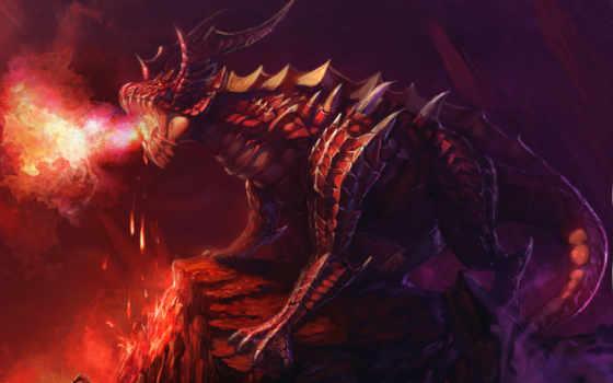 драконы, фентези