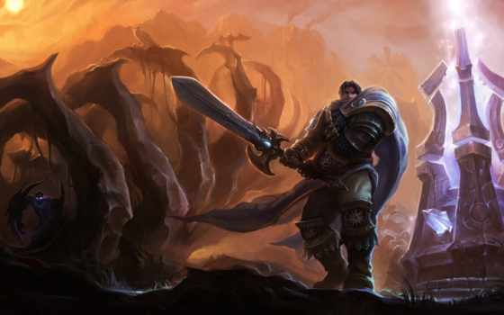 legends, league, garen, nocturne, dominion, art, lol,