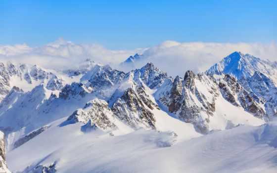 гора, снег, free, covered, фото, titlis, швейцария, photos,