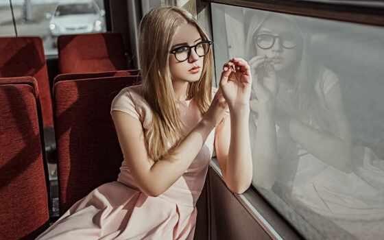 женщина, glass, модель, девушка, blonde, fashion, платье, portrait, лицо