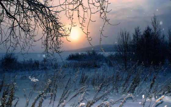 зима, снег Фон № 32134 разрешение 1920x1080
