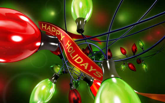 день, рождения, абстракция, happy, holidays, герлянды,