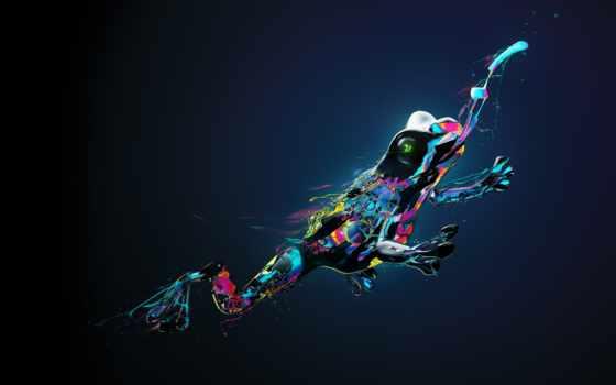 качества, лягушка, хорошего, фигуры, свечение, desktopography, pattern, laevsky, формы, water, color,