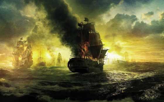pirates, caribbean, stranger, tides, black, пираты, pearl, карибского, моря, movie,