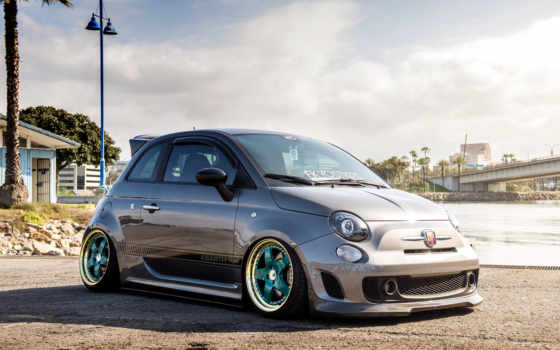 abarth, fiat, тюнинг, full, wheels, garde, avant, mix,