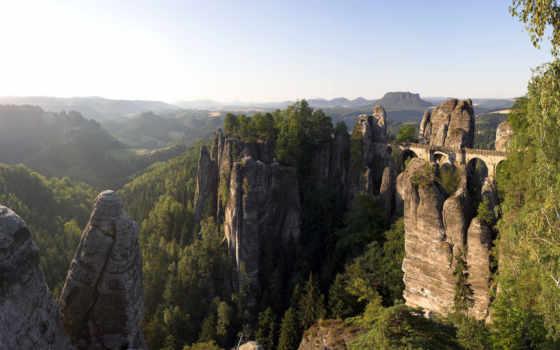саксонская, швейцария, swiss, saxon, park, national, эльба, экскурсии, bastei, горы,