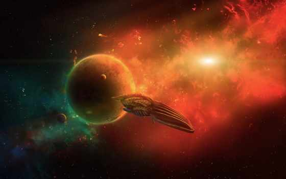 deviantart, планеты, art, страница, космос, fantasy,