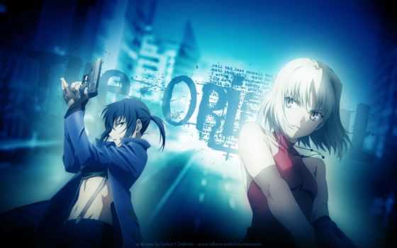 anime, ханаан, пистолет