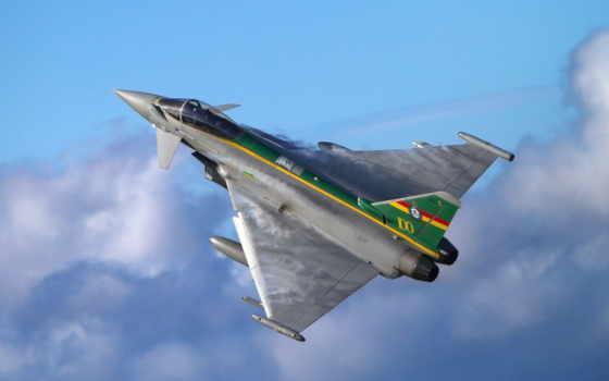 desktop, pictures, истребитель, полет, new, typhoon, eurofighter, многоцелевой,