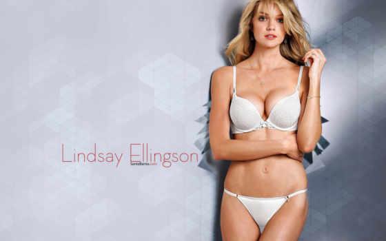 lindsay, ellingson, victoria, secret, của, lingerie, линдсэй, ngực, tin, viên,
