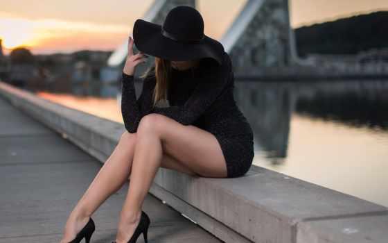 devushki, туфли, девушка, ножки, шатенка, кладбище, каблуки, загадочные, шляпа, hansen, anders,
