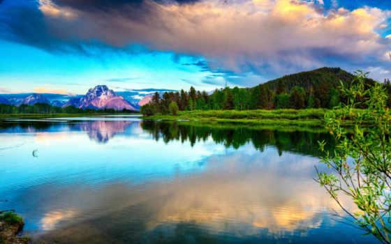 природа, красивые, природы, красивый, краски, яркие, добавить, online, заводь, горы,