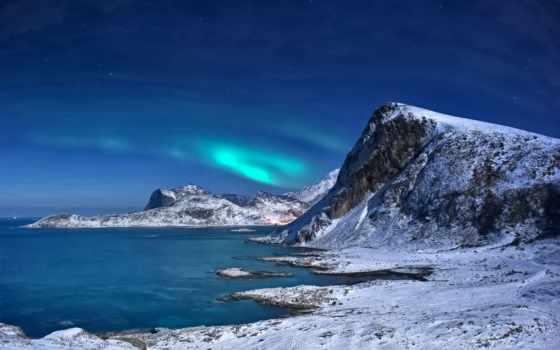 природа, скандинавский, северная, country, фьорды, норвегии, коллекция, назад,