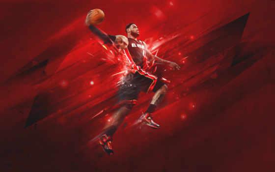 баскетбол, тепло, miami