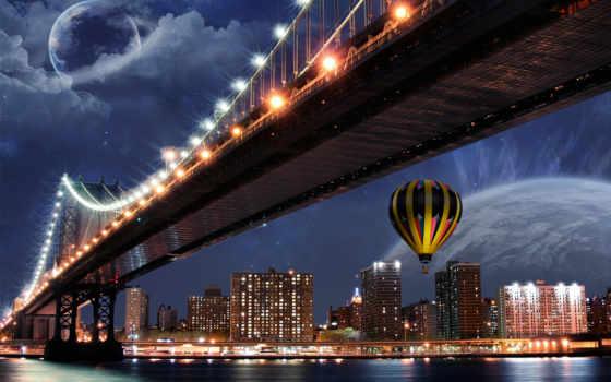 мосты, эксклюзивные, города, разное,