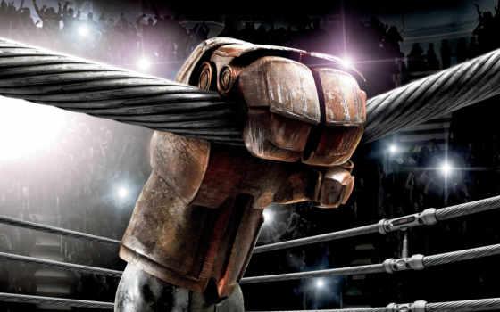 boxeo, fondos, real, стальной, pantalla, acero, escritorio, robot,