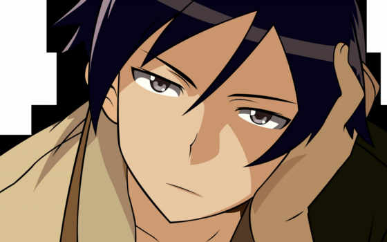 anime, парень, аватары, вконтакте, печаль, парни, аватар, большой, аватарки, которых,