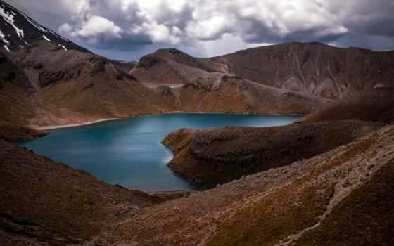 озеро, tama, low, ipad, new, zealand, landscape, природа, гора