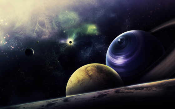 космос, звезды, планеты