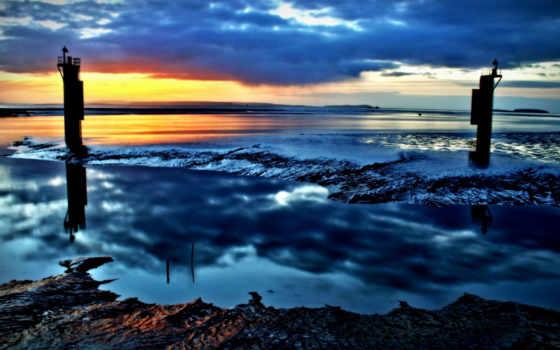 water, море, природа