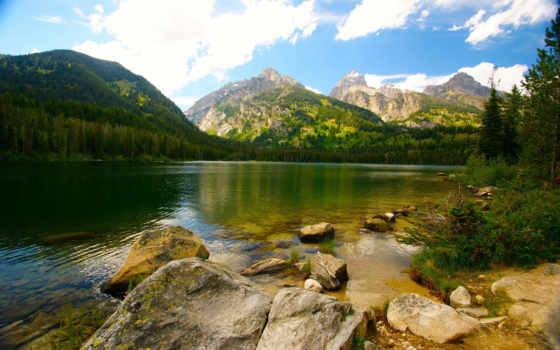 природа, landscape, горы