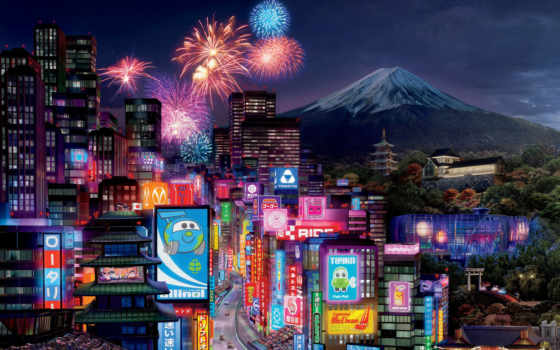 pixar, disney, walt, drift, tokyo, tokio, cars, animated, город, сниматься, racing,