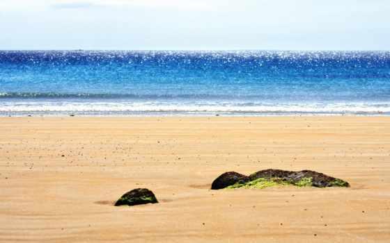 пляж, summer, море, full, страница, obrázky,