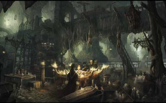чумной, fantasy, доктор, art, artwork, ужас, game, ворона, digital, darkness