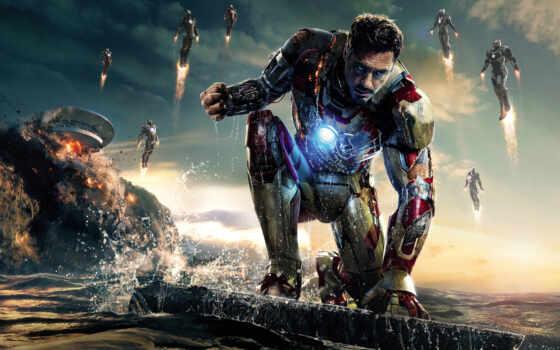 Железный человек 3, постер, фильма