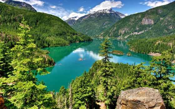 природа, красивые, природы, места,