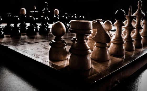 chess, фигуры, доска