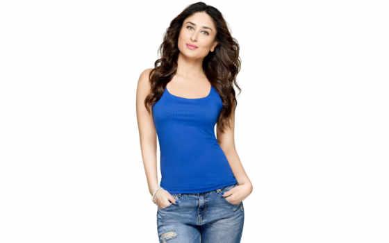 kareena, kapoor, джинсы, bollywood, рубашка, stunning, hot,