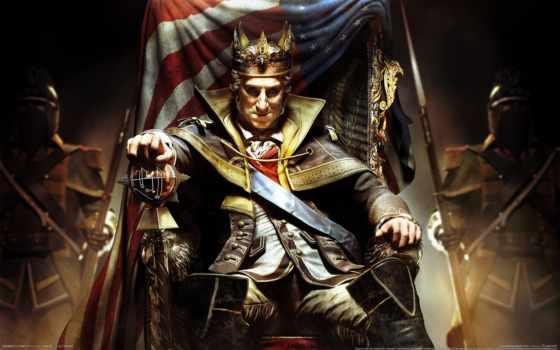 creed, assassin, tyranny, дополнения, king, season, pass, washington, iii,