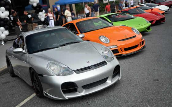 спорткары, carrera, автомобили, широкоформатные,