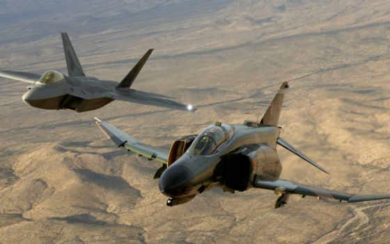 картинка, raptor, самолёт