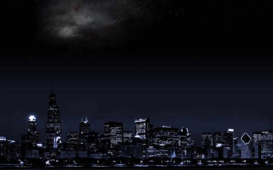 gece, gökyüzü, ночь, город, fotoğrafları, доктор,