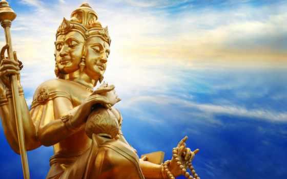 hindu, god, статуя