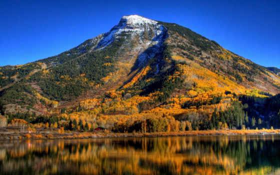 осень, горах, горы, картинка, природа, горные,