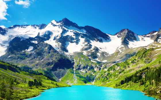 природа, nice, desktop, icy,