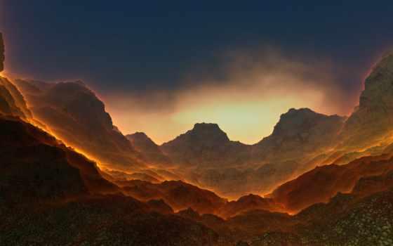 долина, burn, widescreen, desktop, mobile, high, photos,