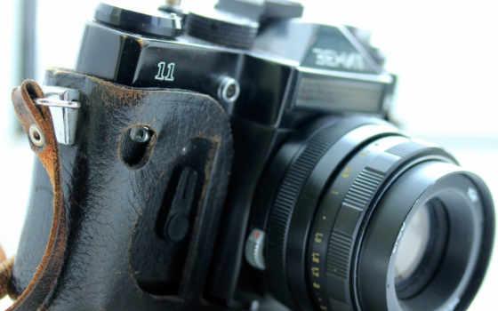 зенит, фотоаппарат, объектив