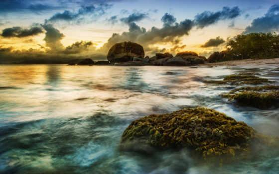 hdr, побережье, priroda