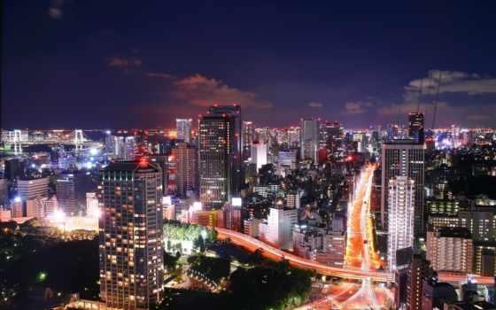 tokyo, tokio, город, большой, мире, самый, япония,