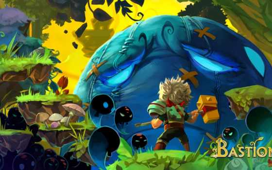 bastion, game, games, игры, pinterest, обзор, игру, build, стена, indie,