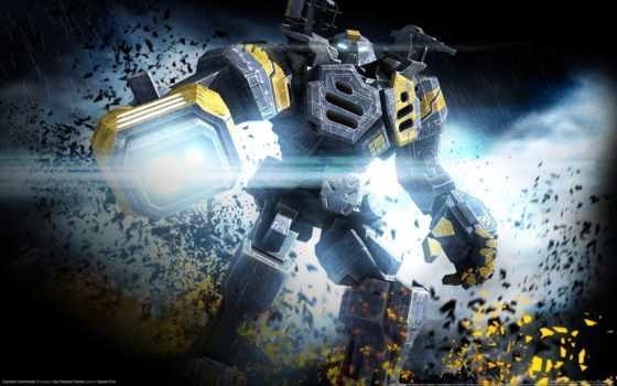 commander, supreme, робот, игра,